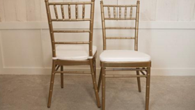 Image of a Gold Chiavari Chairs