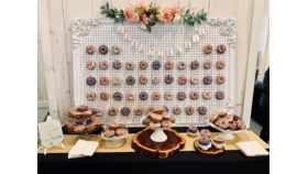 Image of a Donut Wall