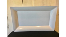 Image of a White Serving Tray