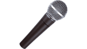Image of a Audio - Microphone - Wired - SM58