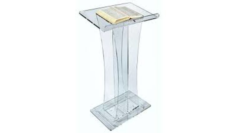 Picture of a Acrylic Podiums