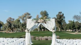 Image of a 4 Post Canopy/ Chuppah