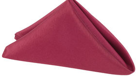 Image of a 20 20 Lamour Burgundy Napkins