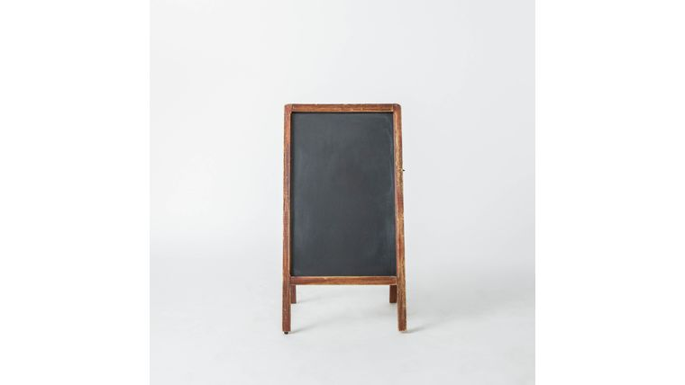 Picture of a A-Frame Chalkboard - Dark