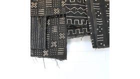 Black Mudcloth Blankets image