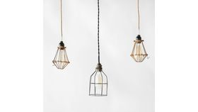 Image of a Industrial Pendant Cage Lights