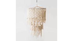 Image of a Macrame Chandelier
