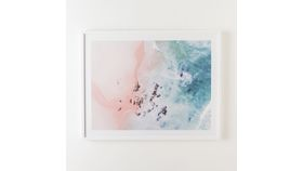 Image of a Framed Sea Bliss Print