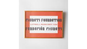 Image of a Framed Chintati Foundation Poster