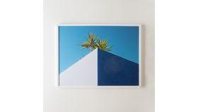 Image of a Framed Blue Sky Photo Print