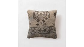 Image of a Aqua Kilim Pillow, Medium