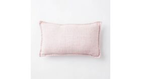 Image of a Pillow Cover // Vintage Rose Linen Lumbar