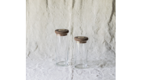 Image of a Glass Canister, Lg
