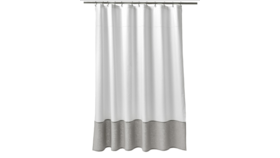 Image of a Oxford Stitch Shower Curtain