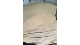 Image of a Cream Bedskirt, Queen