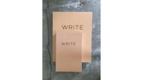 "Image of a ""WRITE"" Notebook Set"