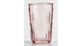 Image of a Blush Pink Glass Tumbler