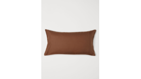 Image of a Pillow // Rust Linen, Twin