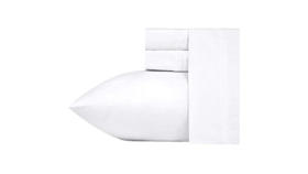 Image of a Pure White Queen Sheet Set, 4 pc.