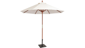 Image of a 9 ft Market Umbrella - Natural