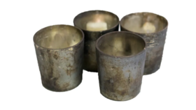 Image of a Antiqued Votive Candle Holders