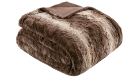 Image of a Faux Fur Throws - Brown