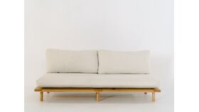 Image of a Amaretto Armless Sofa