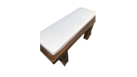 Image of a Bench Cushions- Ivory