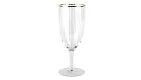 Image of a Glassware- Gold Rimmed Goblet