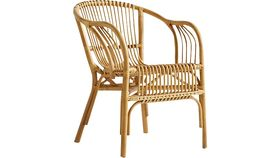 Image of a BAMBOO RATTAN ACCENT CHAIR