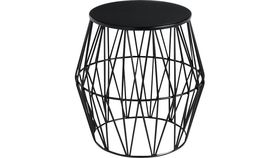 Image of a BLACK PRISM ACCENT TABLE