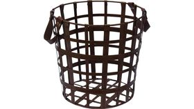 Image of a BROWN STEEL BASKET