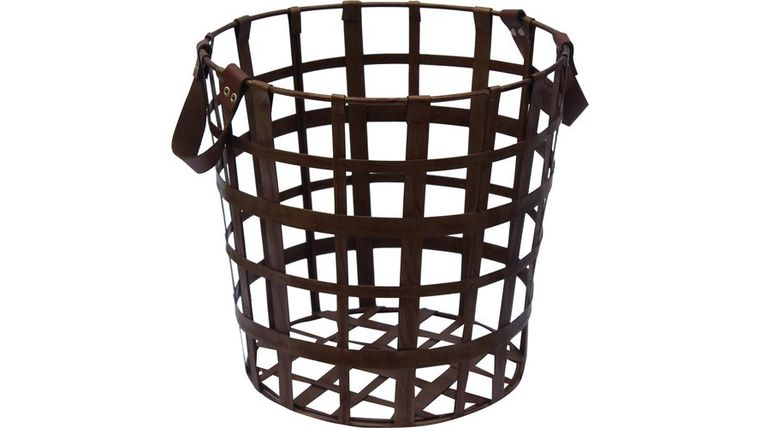 Picture of a BROWN STEEL BASKET