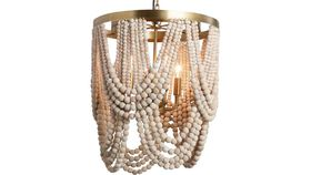 Image of a BEADED CHANDELIER
