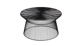 Image of a BLACK WIRE COFFEE TABLE