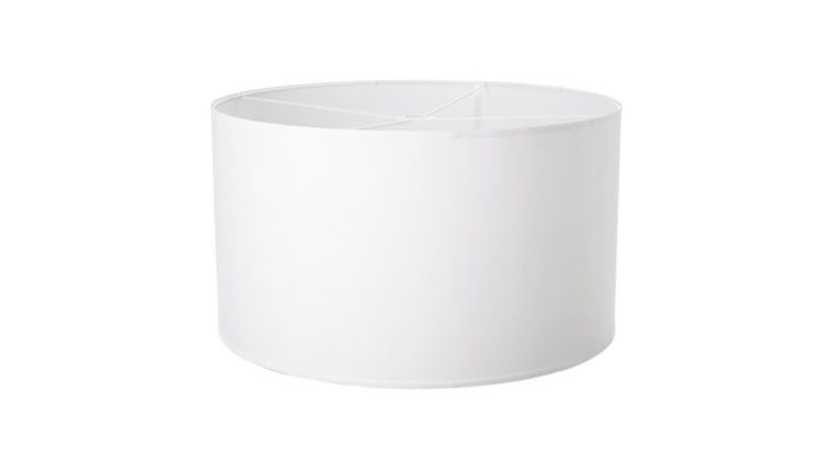 Picture of a Large Drum Shade White