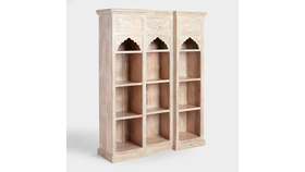 Image of a Carved Bookshelf