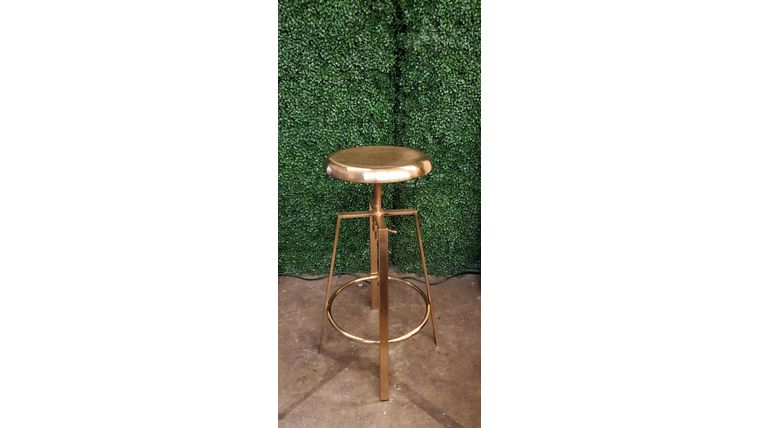 Picture of a Gold Barstools