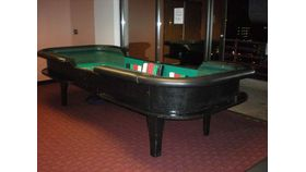 Image of a Full Size Craps Table w/ Dealers
