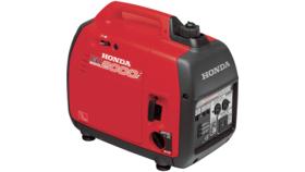 Image of a Honda 2000 Watt Generator- quiet