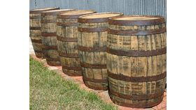 Image of a Large Whisky Barrel
