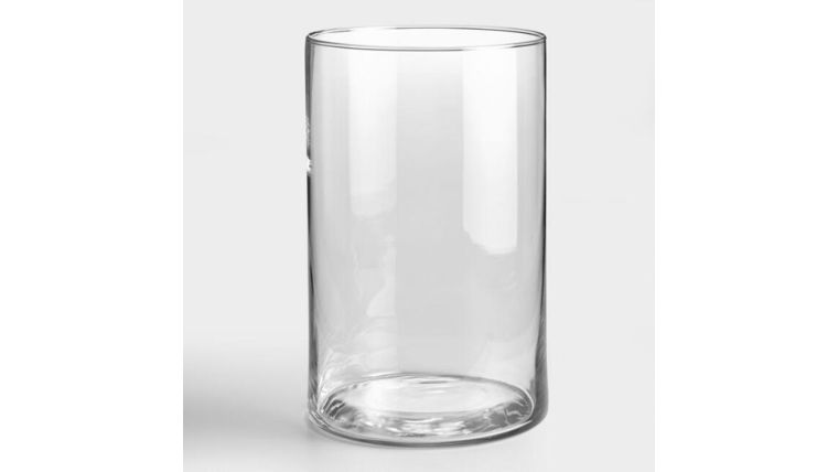 """Picture of a 10"""" Glass Cylinder"""