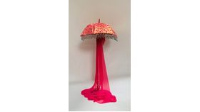 Image of a STANDING UMBRELLAS - PINK PATTERN