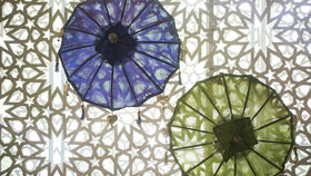 Image of a Solid Color Umbrellas - Small
