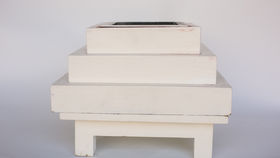 Image of a HAVAN KUND - WHITE