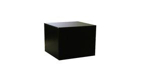 Image of a Black Display Pedestals - Medium