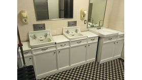 Image of a Mellon Womens Room Vanities (2 Pieces)