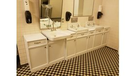 Image of a Mellon Mens Room Vanities (2 Pieces)