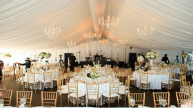 Image of a Sagamore Tent Liner Tent Decoration