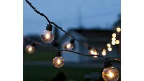 Image of a Bistro Lights (Black Cord)